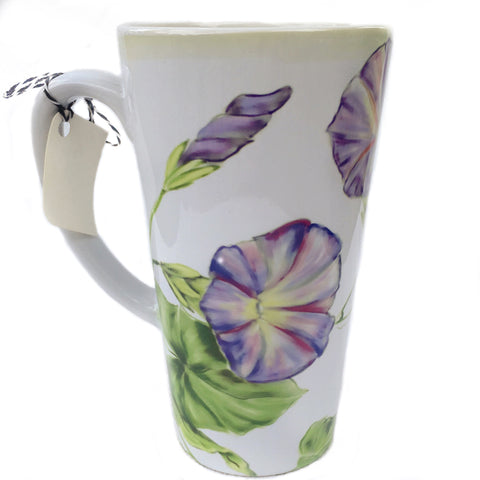 Latte Mug-Morning Glory