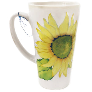Latte Mug- Summer Blooms- Sunflower