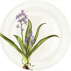 "Summer Blooms - Hyacinth - 10"" Dinner Plate"