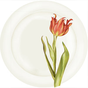"Summer Blooms - Tulip #2 - 10"" Dinner Plate"