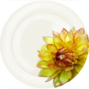 "Summer Blooms - Mum#2 - 10"" Dinner Plate"