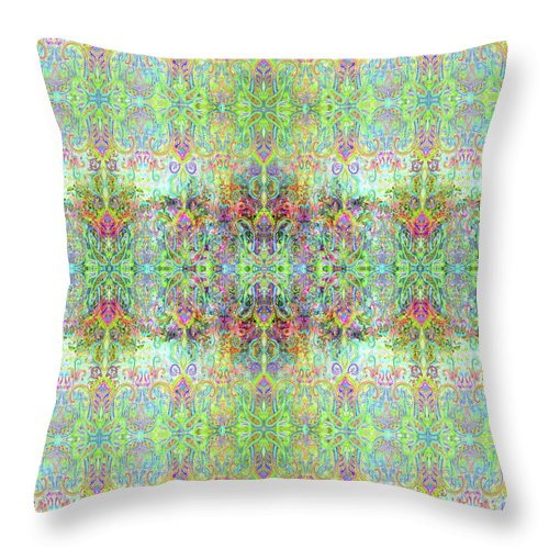 Colorful - Celedon Petite - Throw Pillow