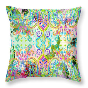 Colorful - Mint Magic - Throw Pillow