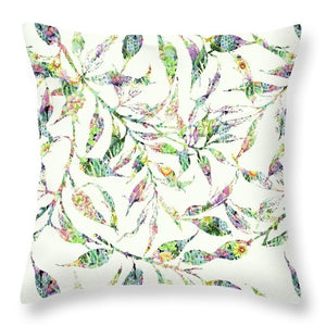 Fern - Vanilla - Throw Pillow