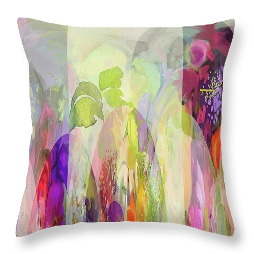 Frolic - Throw Pillow