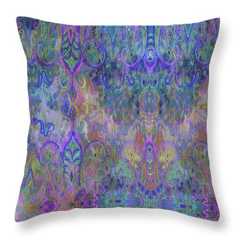 India - Throw Pillow