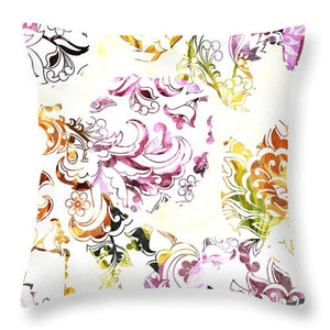 Lace - Carefree - Throw Pillow