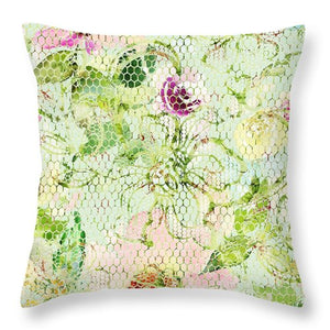 Lace - Cleo - Throw Pillow