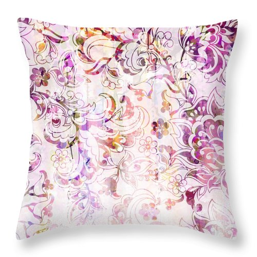 Lace - Princess Blush - Throw Pillow