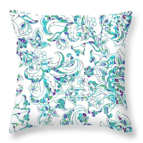 Lace - Ripple - Throw Pillow