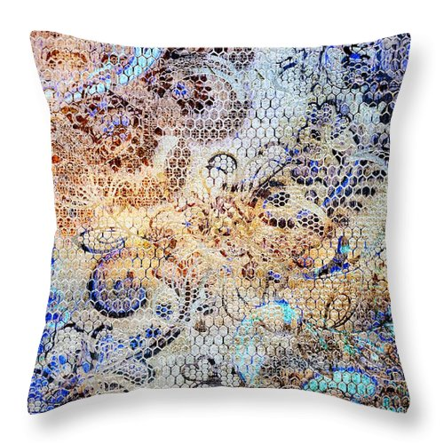 Lace - Stella - Throw Pillow