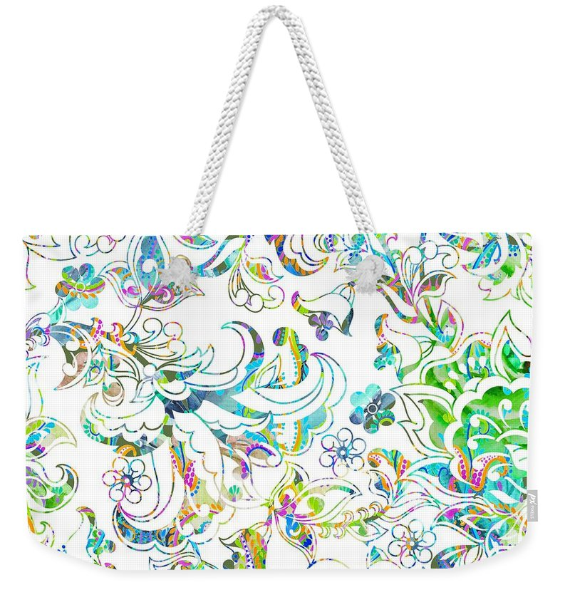 Lace - Wild Emerald - Weekender Tote Bag