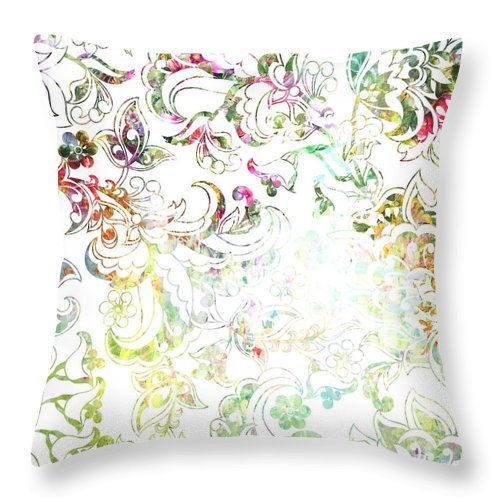 Lace - Willow - Throw Pillow