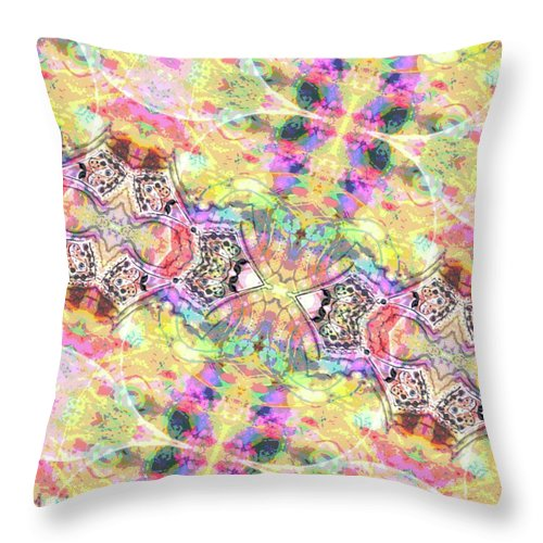 Lemon Kiss - Throw Pillow