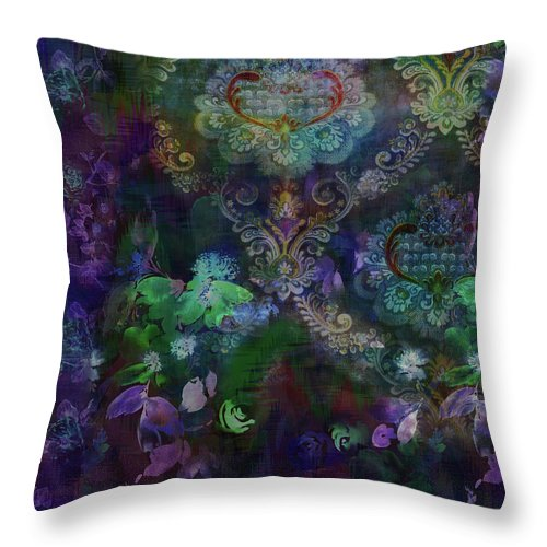 Mae-dark - Throw Pillow