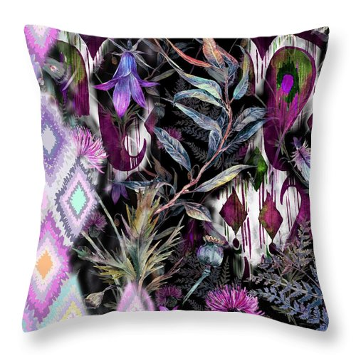 Raven - Throw Pillow