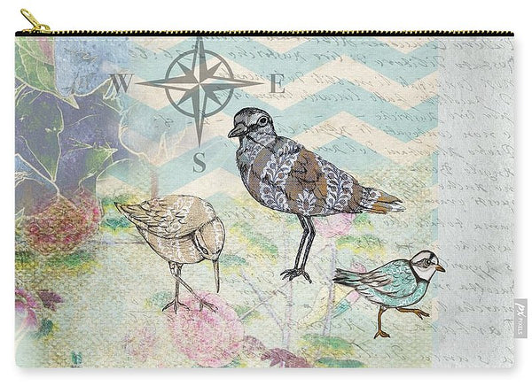 Sanctuary 3 Birds - Carry-All Pouch