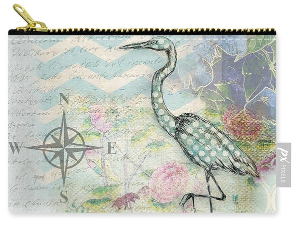 Sanctuary Egret - Carry-All Pouch