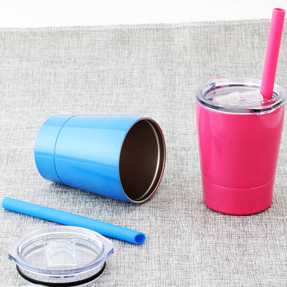 Kids And Toddler Stainless Steel Tumbler Cups 8 5 Oz Set
