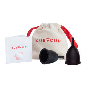 Ruby Cup Duo Pack: Set of 2 Menstrual Cups (Small & Medium) - Includes  2 Cups Donation!