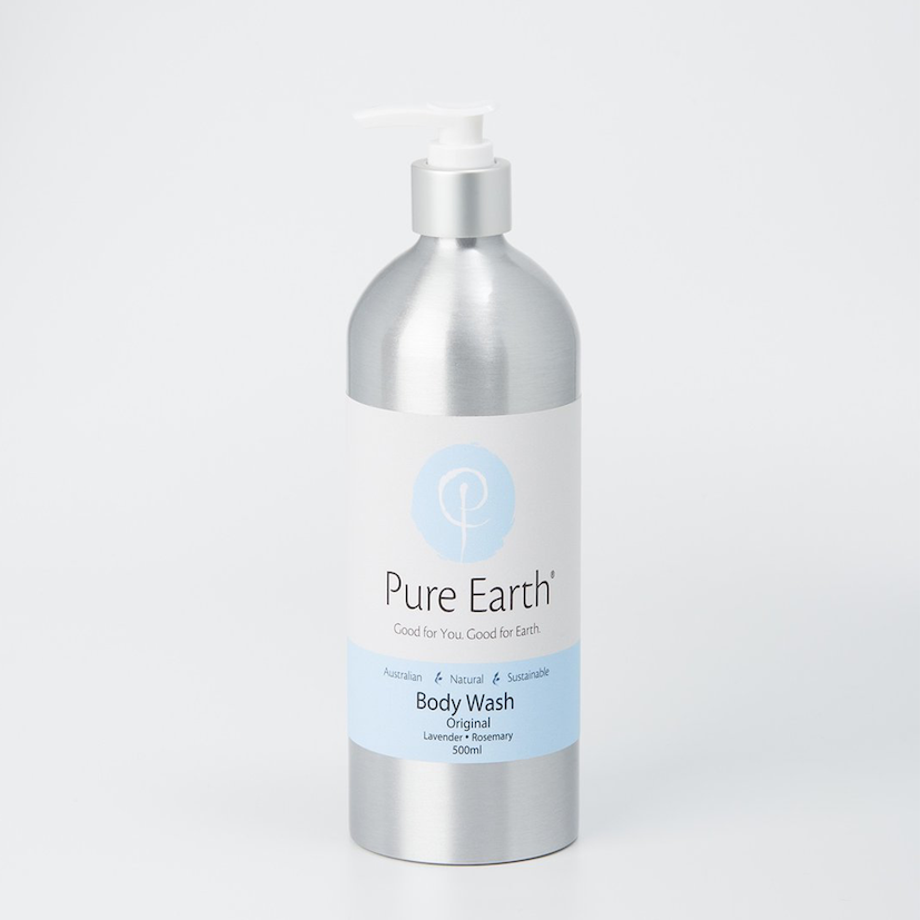 Pure Earth Natural Body Wash