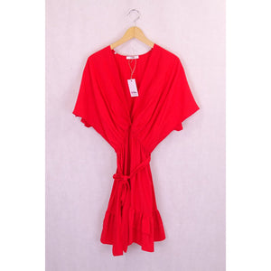 Reluv Clothing Sheike Red Dress