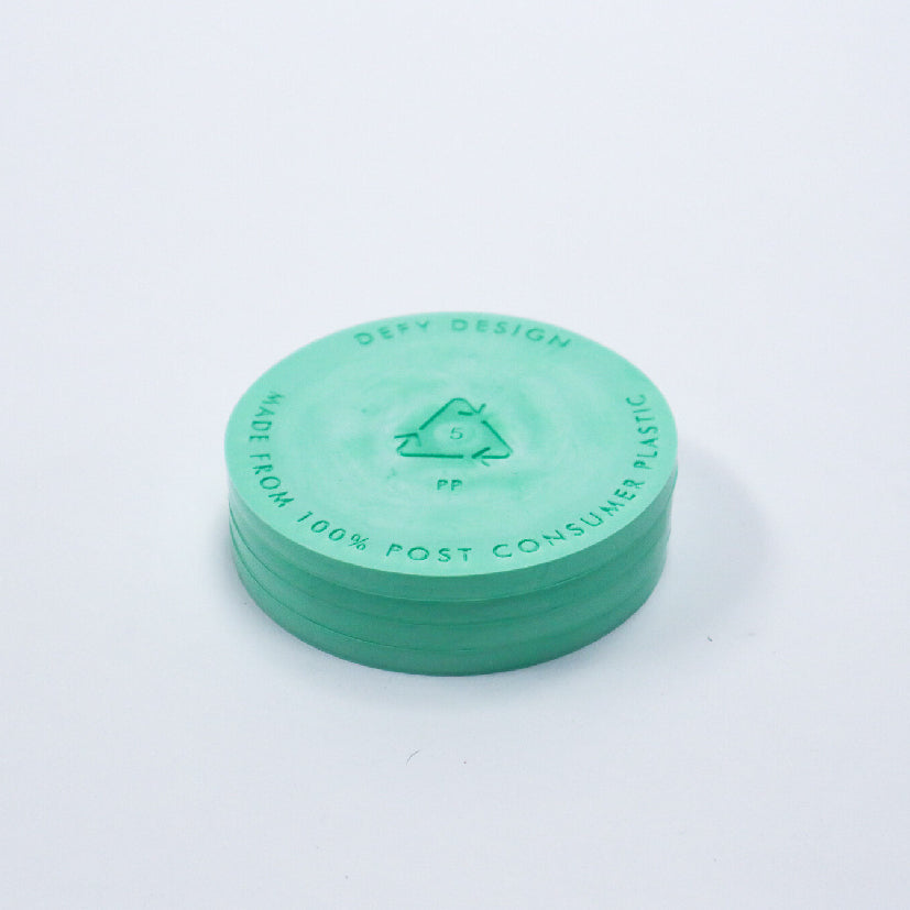 Recycled Plastic - Green Coasters