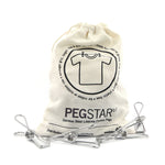 Podstar Peg Star (30) Stainless Steel Lifetime Pegs