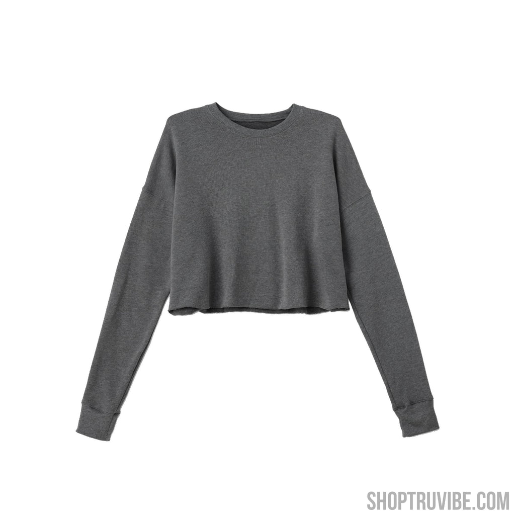 Cropped Fleece Crewneck