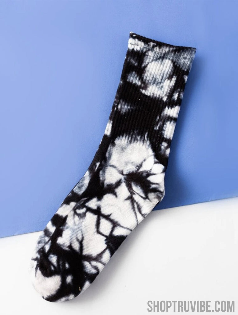 Tie Dye Cotton Socks