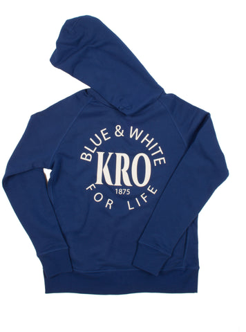Blue & White For Life Hoodie