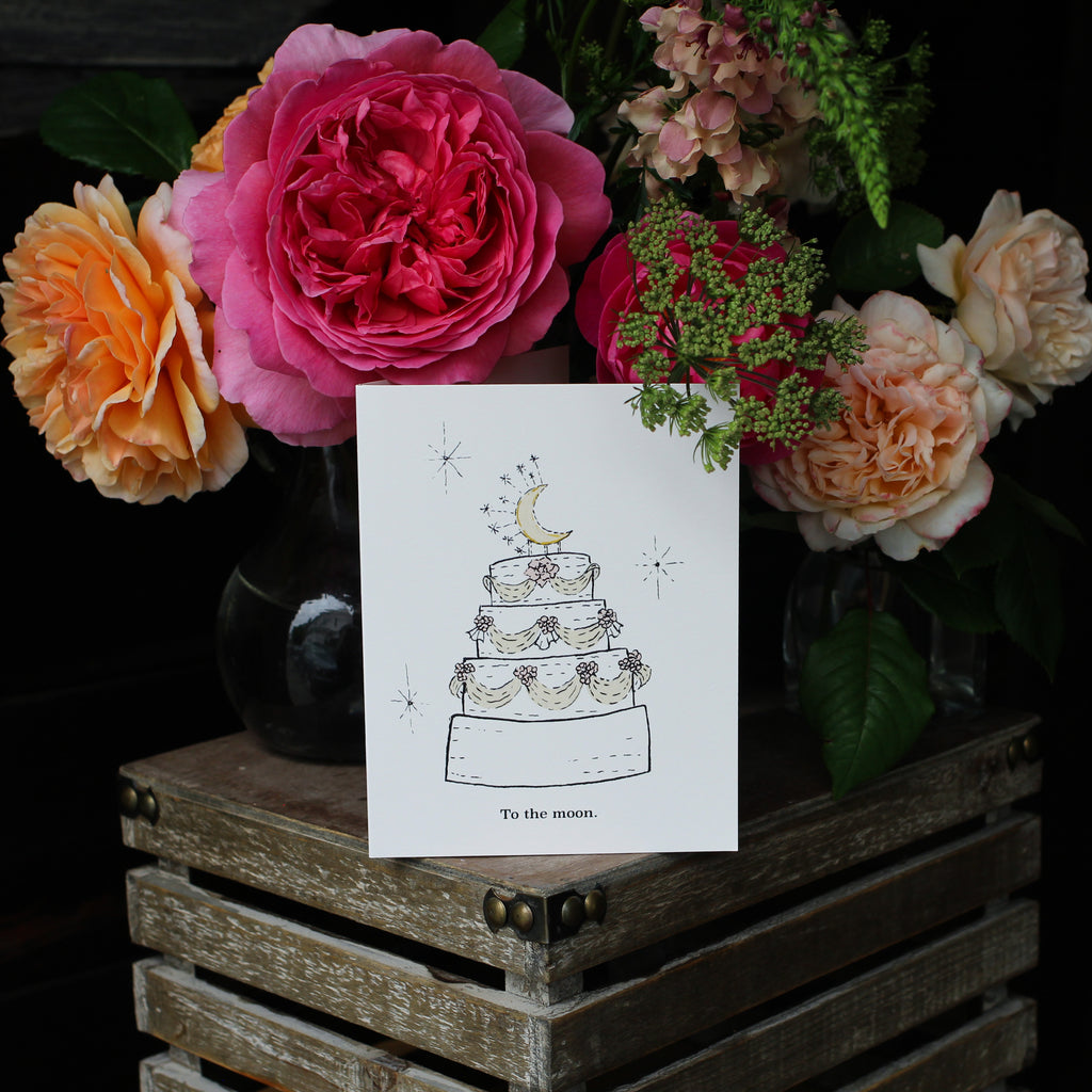 Wedding Whimsical Greeting Card