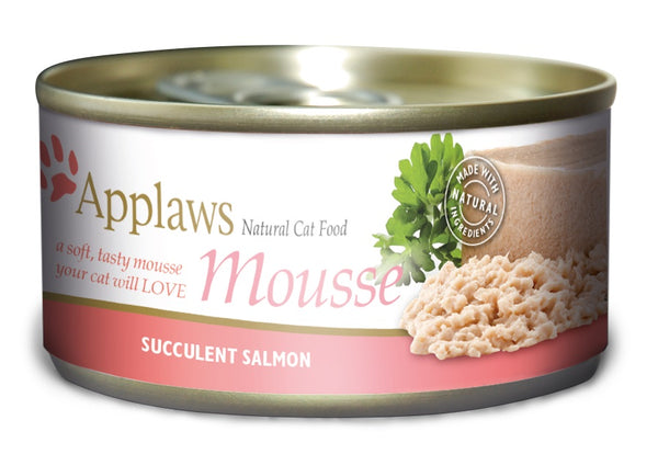 Applaws Cat Salmon Mousse Can 70 g