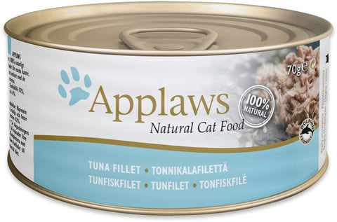 Applaws Cat Tuna Fillet Can  70 g