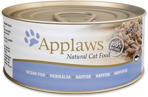 Applaws Cat Ocean Fish Can 70 g