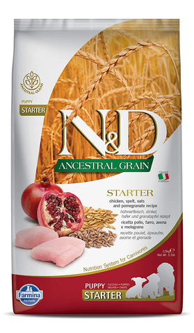 Farmina  Ancestral Low Grain Chicken & Pomegranate Starter Puppy Food