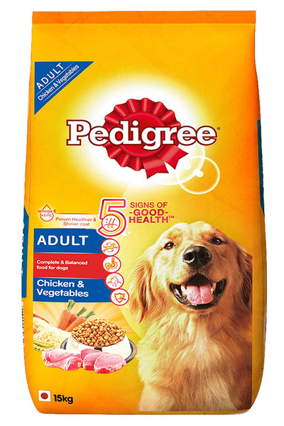 Pedigree Adult Dry Dog Food, Chicken & Vegetables