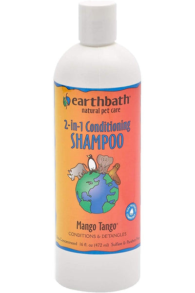 Trumppetz Earthbath 2-in-1 Conditioning Shampoo, Mango Tango, 16 Ounce