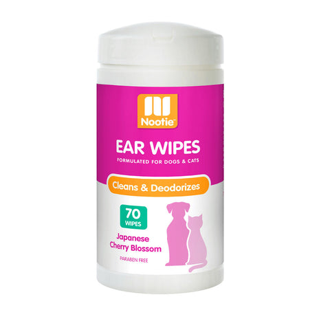 Nootie Ear Wipes Japanese Cherry Blossom 70 Pcs