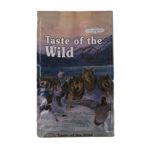 Trumppetz Taste Of The Wild Wetlands Canine (Wild Fowl) Adult Dog Food