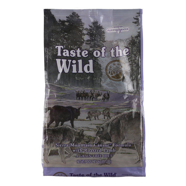 Trumppetz Taste Of The Wild Sierra Mountain Canine (Roasted Lamb) Adult Dog Food