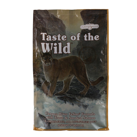 Taste Of The Wild Canyon River Feline (Trout @ Smoked Salmon) Adult Cat Food