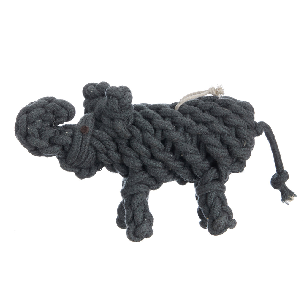 Braided Elephant Rope Toy