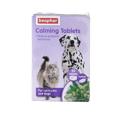 Beaphar Herbal Calming Tablet for Dogs and Cats -20 Tablets