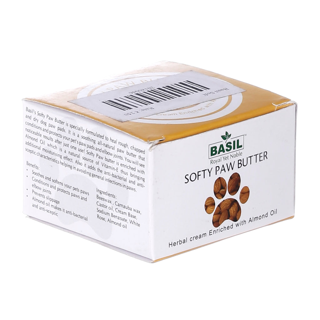 Basil Almond Softy Paw Butter Paw Cream, 50 Gm