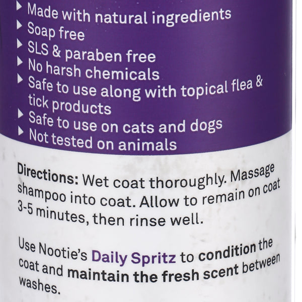 Nootie Restoring Argan Oil Shampoo – Soft Lily Passion 473 ML