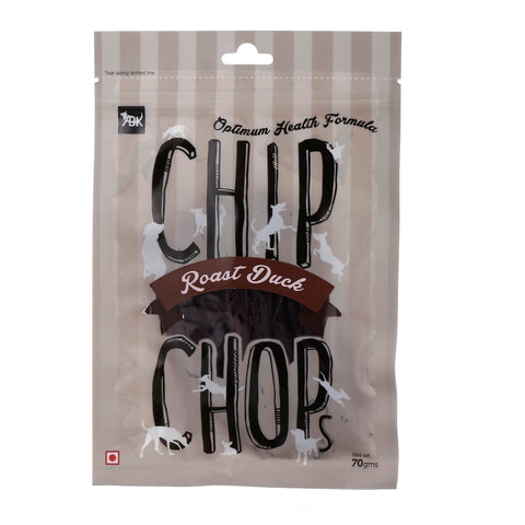 Chip Chops Dog Treats Roast Duck (3x70g) - Pack of 3