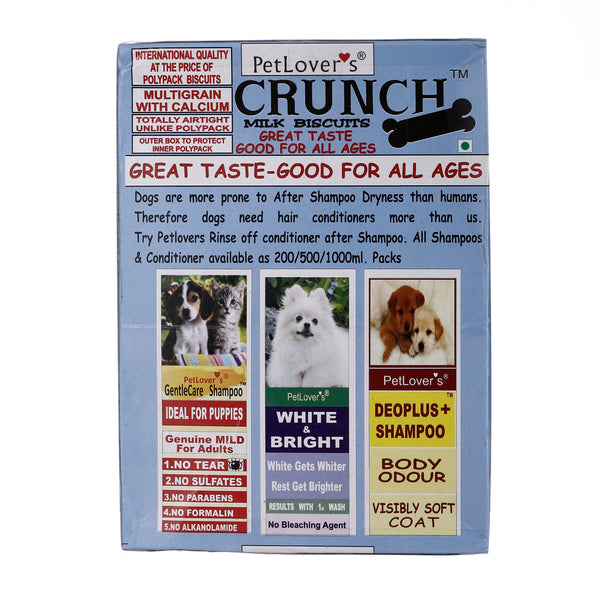 Pet Lover Crunch Milk Biscuit (2x900 g) - Pack of 2