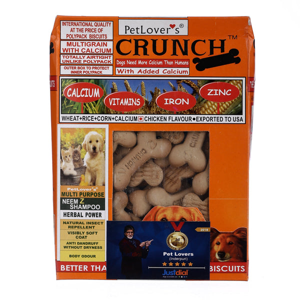 Pet Lover Crunch Chicken Biscuit (2x900 g) - Pack of 2