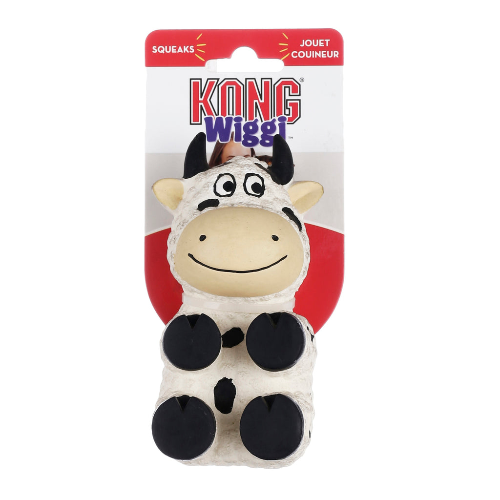 Kong Squeaky Wiggi Cow Large
